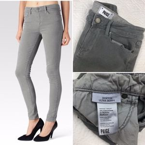 Paige Hoxton Ultra Skinny in Cloud Cover